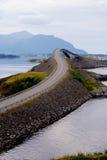 Camino atlántico, Noruega Imagenes de archivo