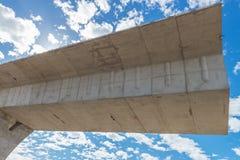 Camino bajo reconstrucción Fotos de archivo