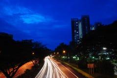 camino - carretera Imagen de archivo libre de regalías