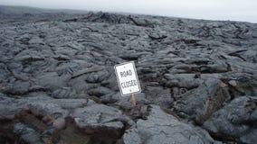 Camino cerrado Foto de archivo
