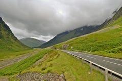 Camino con Glencoe Fotos de archivo