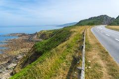 Camino costero Fotos de archivo