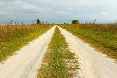 Camino cubierto rural Fotos de archivo libres de regalías
