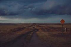 Camino cuestionable Imagen de archivo