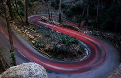 Camino curvado Foto de archivo