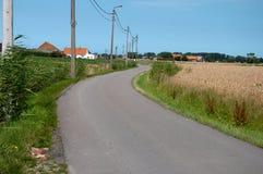 Camino Curvy Imagen de archivo