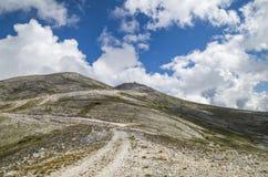 Camino de Ðœountain Imagenes de archivo