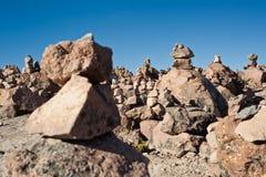 Camino de Arequipa a Chivay foto de archivo