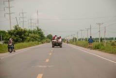 Camino de Camboya Imagenes de archivo