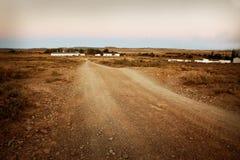 Camino de campo Fotografía de archivo
