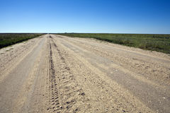 Camino de campo de Kansas foto de archivo