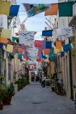 Camino de Carloforte Cerdeña - Italia fotos de archivo