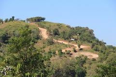 Camino de Ciletuh foto de archivo libre de regalías