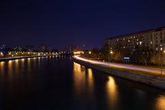 Camino de ciudad urbano Foto de archivo