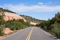 Camino de Colorado Foto de archivo