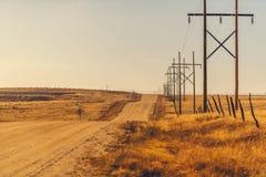 Camino de Colorado Backcountry Imagen de archivo libre de regalías