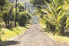 Camino de Costa Rica en Ojochal Costa Rica imagen de archivo libre de regalías