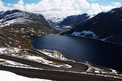 Camino de Dalsnibba Imagen de archivo libre de regalías