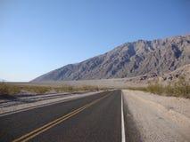 Camino de Death Valley Foto de archivo