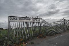 Camino de Duke Humphrey Imagenes de archivo