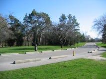 Camino de enrollamiento Foto de archivo libre de regalías