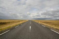 Camino de Islandia Fotografía de archivo libre de regalías