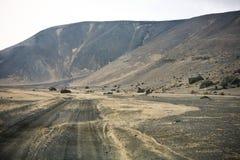 Camino de Islandia Imagenes de archivo