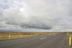 Camino de Islandia Foto de archivo libre de regalías