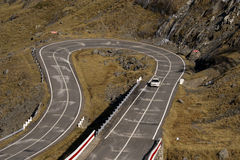 Camino de la alta altitud Imagen de archivo