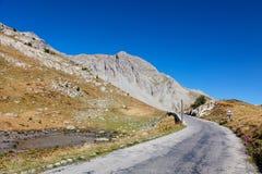 Camino de la alta altitud Fotografía de archivo libre de regalías