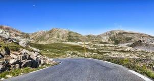 Camino de la alta altitud Foto de archivo libre de regalías