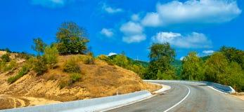 Camino de la altitud más alta en Rumania Imágenes de archivo libres de regalías