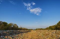 Camino de la basura fotografía de archivo