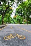Camino de la bicicleta Foto de archivo