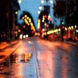 Camino de la calle Fotos de archivo