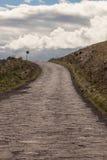 Camino de la carretera de Piilani más allá de Hana Fotografía de archivo libre de regalías