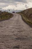 Camino de la carretera de Piilani más allá de Hana Fotografía de archivo