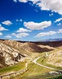 Camino de la colina Fotos de archivo