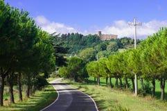 Camino de la colina fotos de archivo libres de regalías