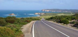 Camino de la costa del parque nacional de Innes fotos de archivo libres de regalías