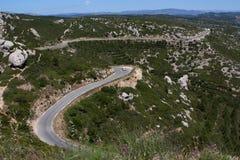 Camino de la cresta Fotos de archivo