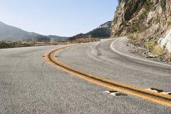Camino de la curva Foto de archivo libre de regalías