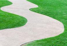 Camino de la curva Imagen de archivo libre de regalías
