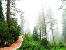 Camino de la estación de la colina Imagenes de archivo