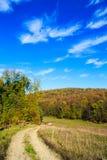 Camino de la grava en rancho Fotos de archivo