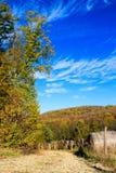 Camino de la grava en rancho Foto de archivo libre de regalías