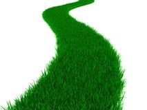 Camino de la hierba libre illustration