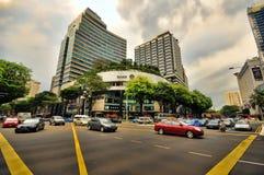 Camino de la huerta, Singapur Foto de archivo libre de regalías