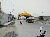 Camino de la India fotos de archivo