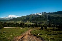 Camino de la montaña. Imágenes de archivo libres de regalías